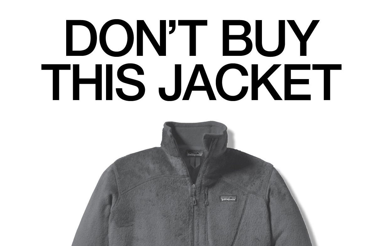 Why Patagonia is telling you NOT to buy their products Sparkle