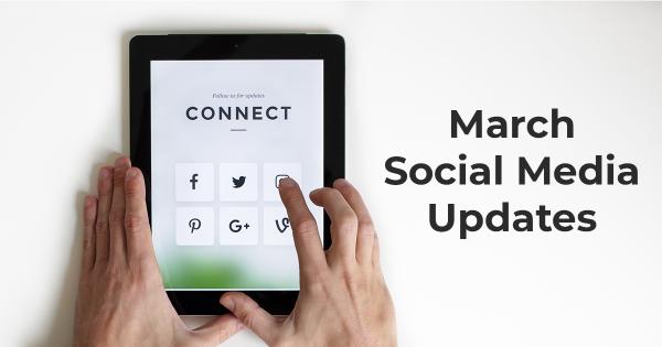 march social media updates