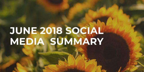 june social media summary